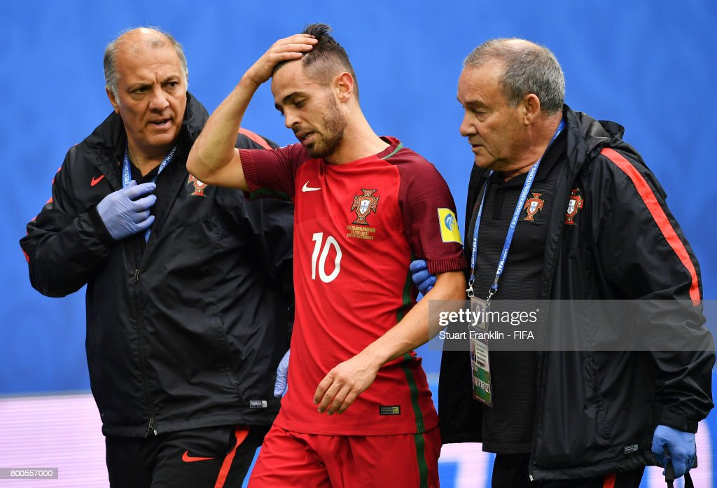 New Zealand v Portugal: Group A - FIFA Confederations Cup Russia 2017 : News Photo