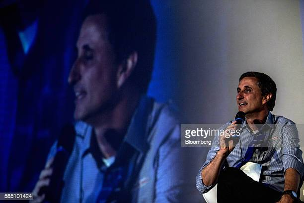 Bernardo Vieira Hees chief executive officer of Kraft Heinz Foods Co speaks during the 25th anniversary ceremony of Fundao Estudar in Sao Paulo...