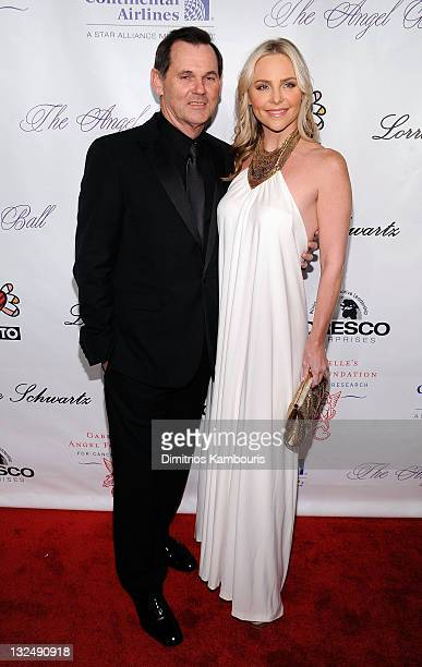 Bernd Beetz and Carmindy attend the 2010 Angel Ball to Benefit Gabrielle's Angel Foundation at Cipriani Wall Street on October 21 2010 in New York...
