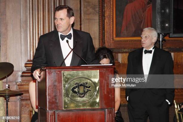Bernd Beetz and Dr Thomas F Schutte attend PRATT INSTITUTE LUXE PACK Host 'The Art of Packaging' Award Gala 2010 at The University Club on April 27...