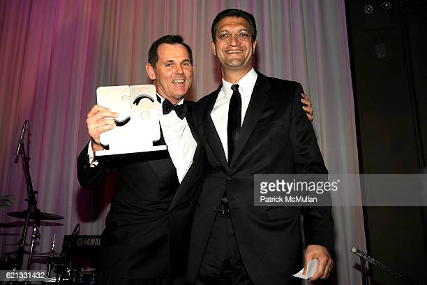 Bernd Beetz and Emanuel Chirico attend The 2nd Annual DKMS Linked Against Leukemia Gala at Capitale on May 7 2008 in New York City