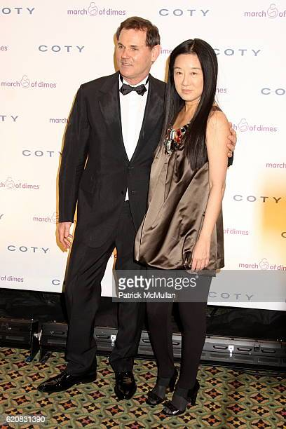 Bernd Beetz and Vera Wang attend March of Dimes 33rd Annual Beauty Ball at Cipriani 42nd Street on March 12 2008 in New York City