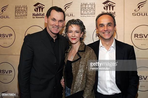 Bernd Beetz Catherine Walsh and Michele Scaniouni attend Jon Bon Jovi and Kenneth Cole Team Up For An Unforgettable Night of Fundraising At 'RSVP To...