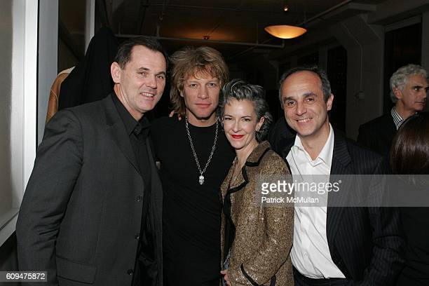 Bernd Beetz Jon Bon Jovi Catherine Walsh and Michele Scaniouni attend Jon Bon Jovi and Kenneth Cole Team Up For An Unforgettable Night of Fundraising...