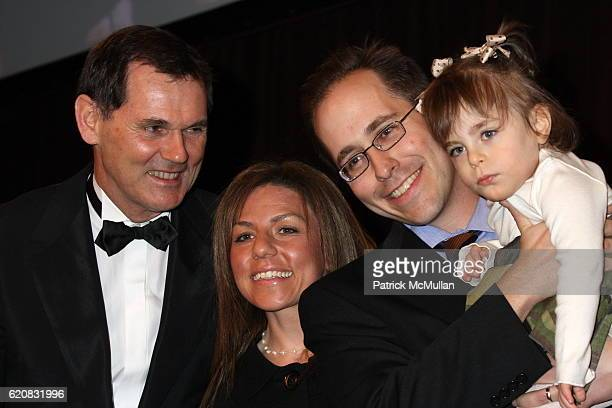 Bernd Beetz Pamela Lookatch Brayn Lookatch and Emma Lookatch attend March of Dimes 33rd Annual Beauty Ball at Cipriani 42nd Street on March 12 2008...