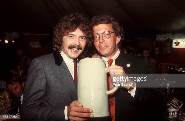 Bernd Clüver Dieter Thomas Heck Schlossfest 1978 am im Schloß Aubach bei BadenBaden Deutschland