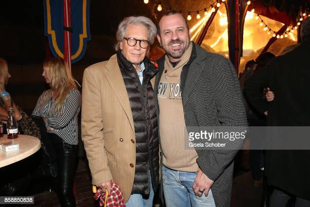 Bernd Herzsprung Michel Guillaume SOKO during the premiere of the Circus Roncalli '40 Jahre Reise zum Regenbogen' on October 7 2017 in Munich Germany