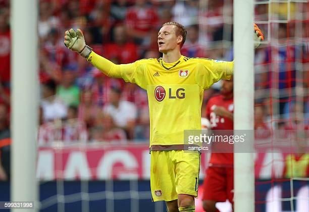 Bernd Leno Torwart Leverkusen musste zwei Elfmeter hinnehmen Fußball 1 Bundesliga FC Bayern München Bayer Leverkusen