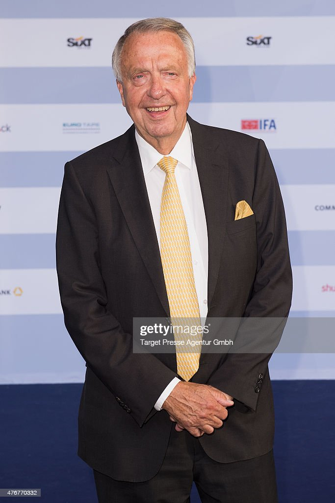 <a gi-track='captionPersonalityLinkClicked' href=/galleries/search?phrase=Bernd+Neumann&family=editorial&specificpeople=598616 ng-click='$event.stopPropagation()'>Bernd Neumann</a> attends the producer party 2015 (Produzentenfest) of the Alliance German Producer - Cinema And Television on June 11, 2015 in Berlin, Germany.