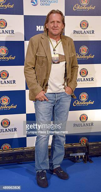 Bernd Schuster attends II Madrid Paulaner Oktoberfest Opening on September 24 2015 in Madrid Spain