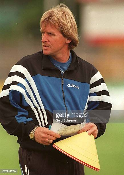 Bernd SCHUSTER beim Training
