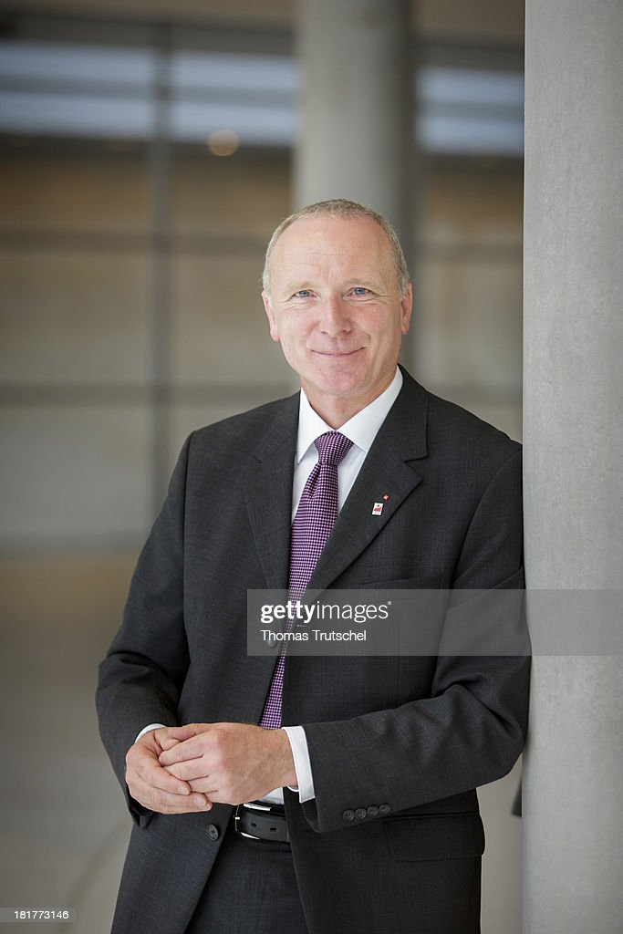 Bernd Westphal, SPD, member of German Bundestag, poses for a photograph on September 24, 2013 in Berlin, Germany.