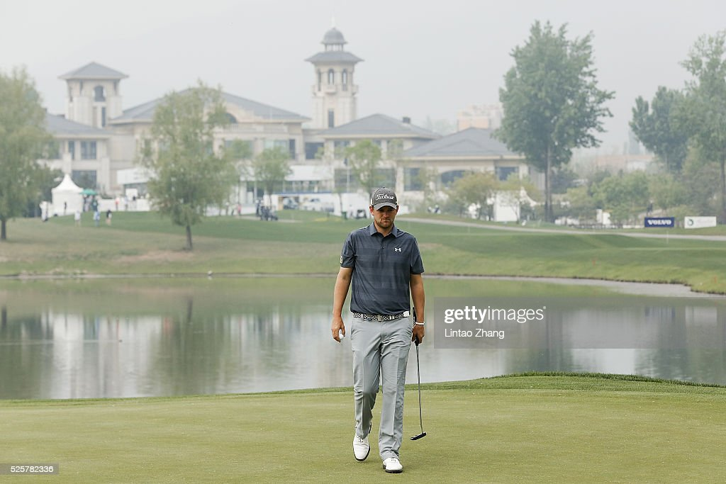 <a gi-track='captionPersonalityLinkClicked' href=/galleries/search?phrase=Bernd+Wiesberger&family=editorial&specificpeople=4025132 ng-click='$event.stopPropagation()'>Bernd Wiesberger</a> of Austria looks on during the second round of the Volvo China open at Topwin Golf and Country Club on April 28, 2016 in Beijing, China.