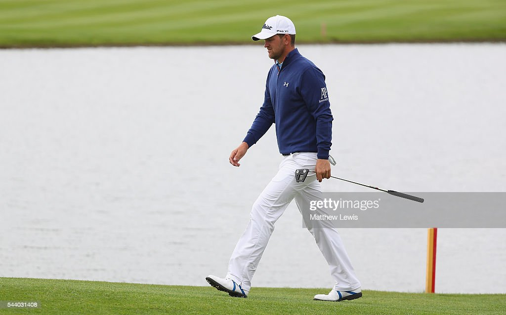 <a gi-track='captionPersonalityLinkClicked' href=/galleries/search?phrase=Bernd+Wiesberger&family=editorial&specificpeople=4025132 ng-click='$event.stopPropagation()'>Bernd Wiesberger</a> of Austria walks down the 15th fairway during day two of the 100th Open de France at Le Golf National on July 1, 2016 in Paris, France.