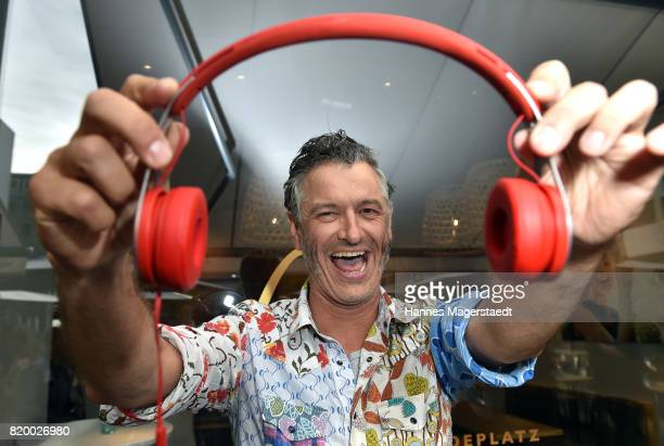 Bernhard Fleischmann attends the 'Cotidiano Restaurant Opening' on July 20 2017 in Munich Germany
