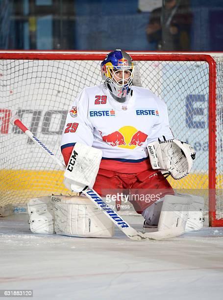 Bernhard Starkbaum of EC Red Bull Salzburg during the action shot September 16 2016 in Salzburg Austria