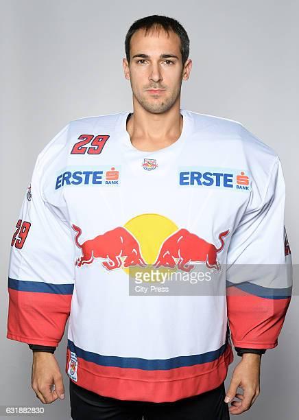 Bernhard Starkbaum of EC Red Bull Salzburg during the portrait shot September 16 2016 in Salzburg Austria