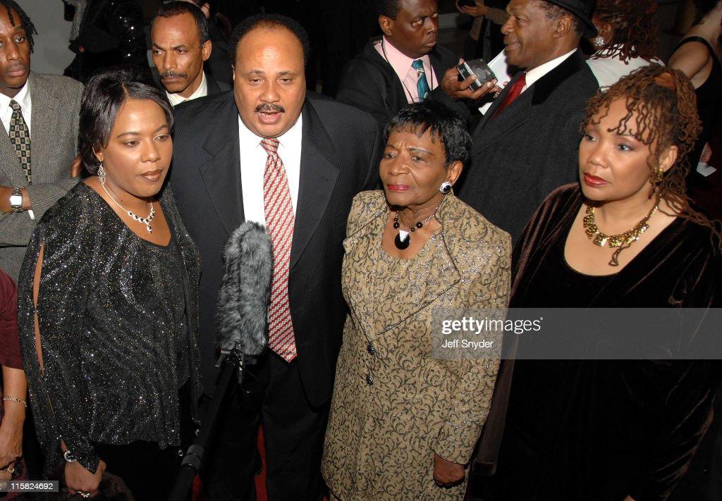 Bernice Albertine King Martin Luther King III Christine King Farris Yolanda Denise King