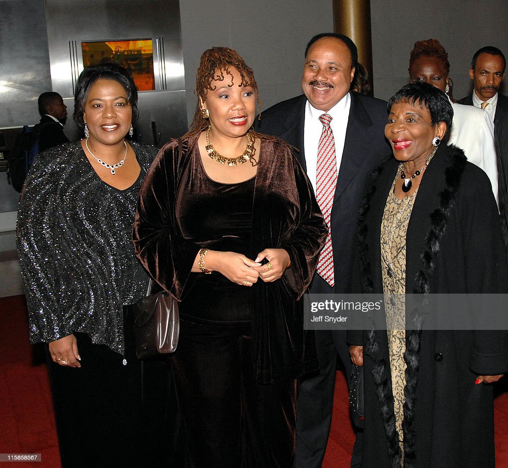 Bernice Albertine King Yolanda Denise King Martin Luther King III Christine King Farris