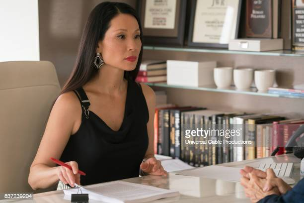 PEOPLE 'Bernie Blythe' Episode 306 Pictured Lucy Liu as Veronica Ford