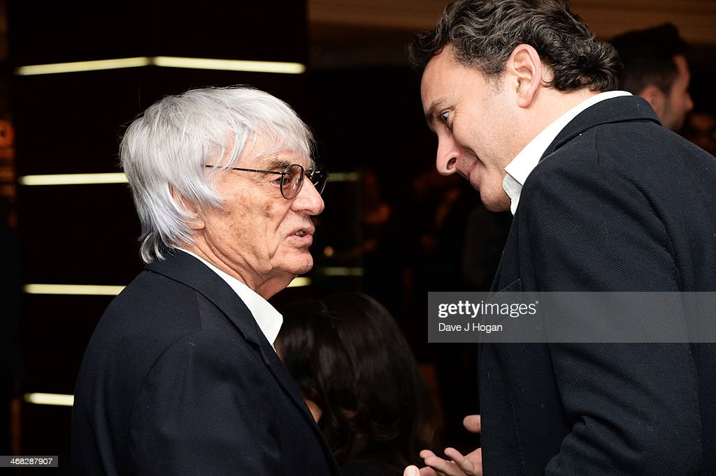 <a gi-track='captionPersonalityLinkClicked' href=/galleries/search?phrase=Bernie+Ecclestone&family=editorial&specificpeople=211579 ng-click='$event.stopPropagation()'>Bernie Ecclestone</a> and <a gi-track='captionPersonalityLinkClicked' href=/galleries/search?phrase=Alejandro+Agag&family=editorial&specificpeople=2910760 ng-click='$event.stopPropagation()'>Alejandro Agag</a> attend a Formula 1 charity photographic auction at The Intercontinental Hotel on February 07, 2014 in London, England.