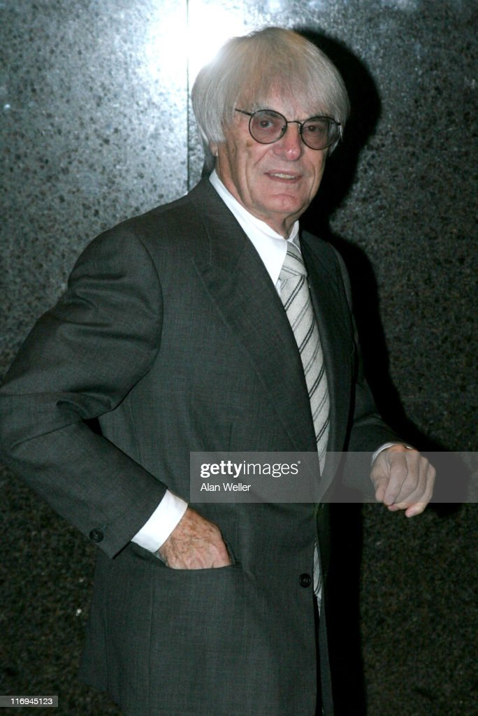 <a gi-track='captionPersonalityLinkClicked' href=/galleries/search?phrase=Bernie+Ecclestone&family=editorial&specificpeople=211579 ng-click='$event.stopPropagation()'>Bernie Ecclestone</a> during Angels Ball - Arrivals - Novemer 7, 2005 at The Carlton Tower Hotel in London, Great Britain.