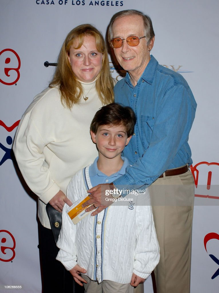 <a gi-track='captionPersonalityLinkClicked' href=/galleries/search?phrase=Bernie+Kopell&family=editorial&specificpeople=228511 ng-click='$event.stopPropagation()'>Bernie Kopell</a>, wife Catrina and son Adam during 'Annie' Opening Night to Benefit CASA of Los Angeles - Arrivals at Pantages Theatre in Hollywood, California, United States.