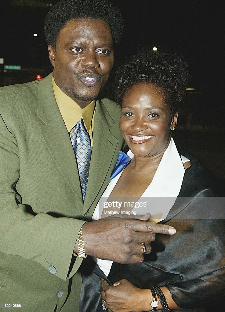 Bernie Mac and his wife Rhonda arriving at The Primetime Emmy Awards Performer Nominee Reception held at Spago in Beverly Hills, CA., on Thursday September 19, 2002. Photo by Craig T. Mathew / ATAS