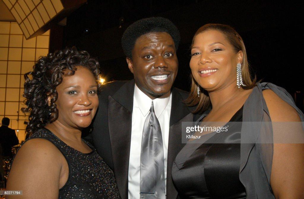 Bernie Mac, wife Rhonda and Queen Latifah