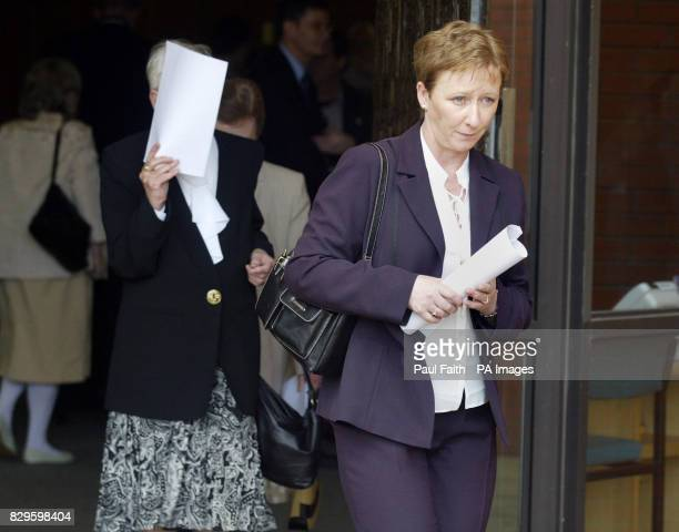 Bernie McQuillan sister of murdered solicitor Rosemary Nelson leaves The public inquiry into the loyalist murder of solicitor Rosemary Nelson gets...