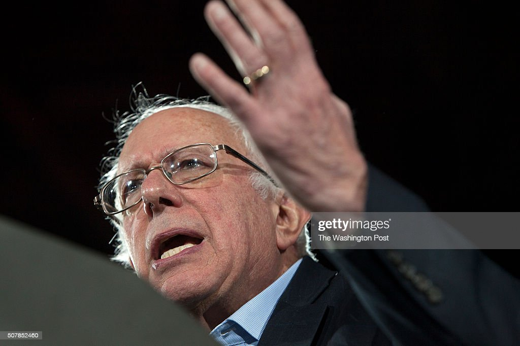 <a gi-track='captionPersonalityLinkClicked' href=/galleries/search?phrase=Bernie+Sanders&family=editorial&specificpeople=2908340 ng-click='$event.stopPropagation()'>Bernie Sanders</a>, a Democratic candidate for President of the U.S., attracts a huge crowd a rally at the University of Iowa.