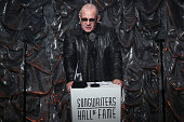 Bernie Taupin speaks during the Songwriters Hall Of Fame 46th Annual Induction And Awards at Marriott Marquis Hotel on June 18 2015 in New York City