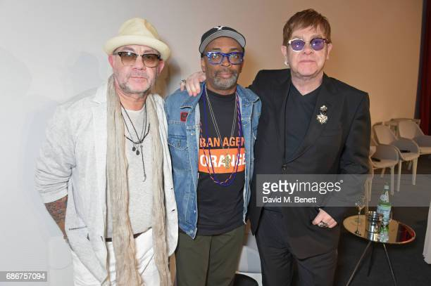 Bernie Taupin Spike Lee and Sir Elton John attend the World Premiere screening of 'The Cut' Sir Elton John and Bernie Taupin's classics 'Rocket Man'...