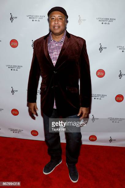 Bernie Williams attends the 2017 Little Kids Rock Benefit at PlayStation Theater on October 18 2017 in New York City