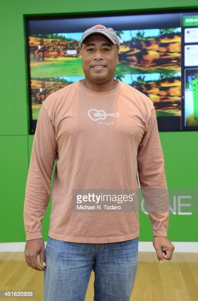 Bernie Williams attends the Xbox One Gaming Tournament at Bridgewater Commons Mall on November 23 2013 in Bridgewater New Jersey