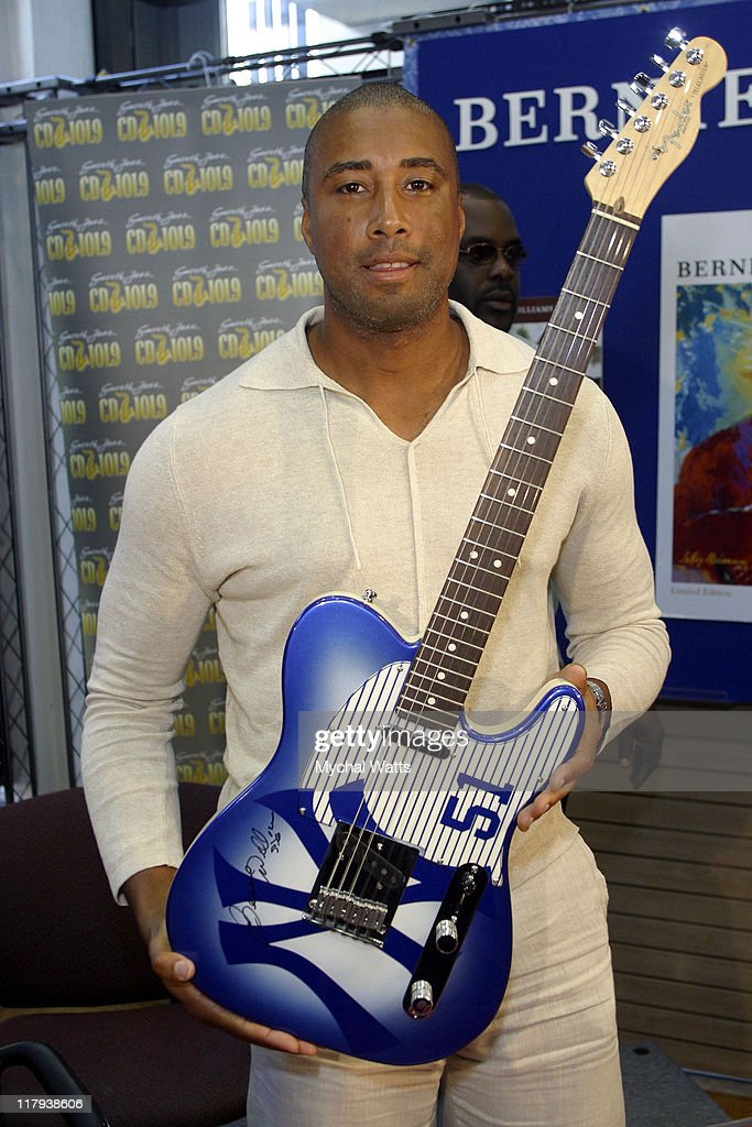 "NY Yankees Star Bernie Williams Celebrates the release of his GRP debut ""The"