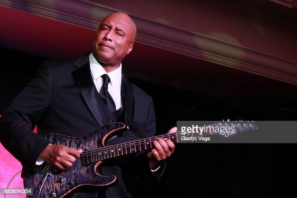 Bernie Williams performs as part of ASCAP Latin Music Awards at Condado Vanderbilt Hotel on March 15 2017 in San Juan Puerto Rico