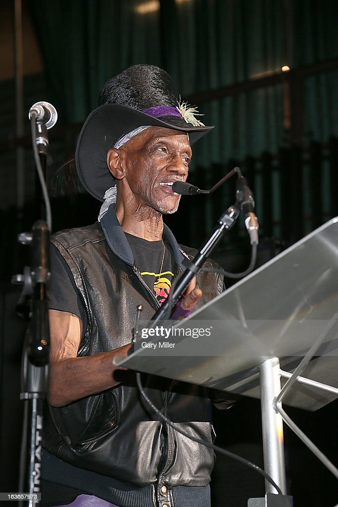Bernie Worell speaks at the Austin Music Awards at the Austin Music Hall during the South By Southwest Music Festival on March 13, 2013 in Austin, Texas.