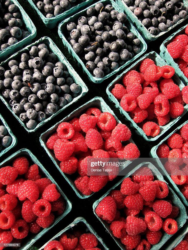 Berry baskets : Stock Photo