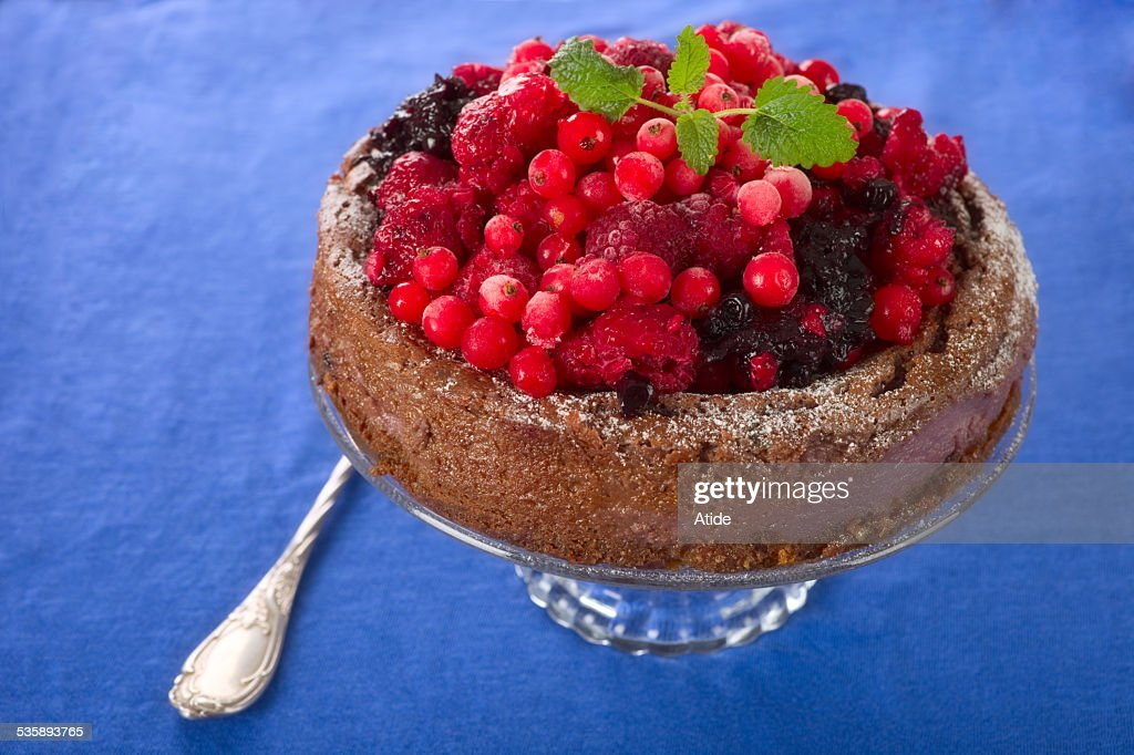 Berry cake : Stock Photo