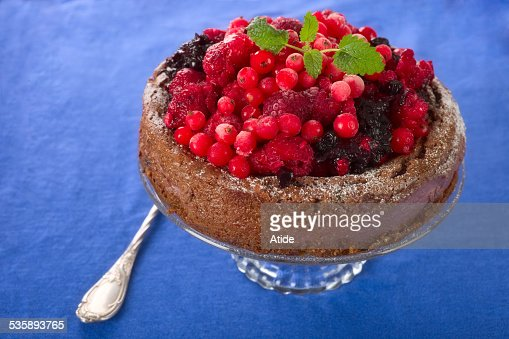 Berry Torta : Foto stock