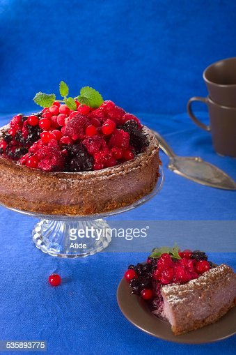Berry Kuchen : Stock-Foto