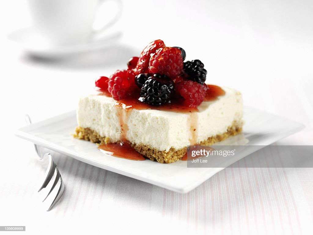 Berry cheesecake : Stock Photo