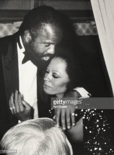 Berry Gordy and Diana Ross during Apollo Theater 50th Anniversary at Apollo Theater in New York City New York United States