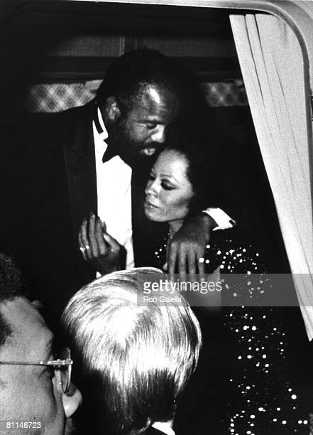 Berry Gordy and Diana Ross