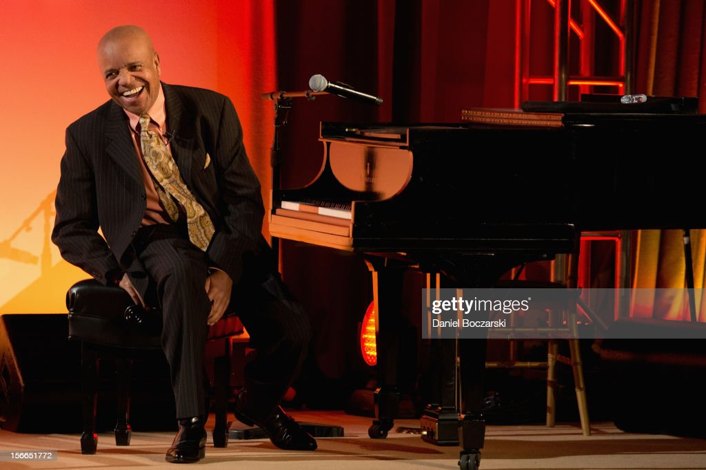 Berry Gordy attends An Evening with Berry Gordy at the Art Institute Of Chicago on November 17, 2012 in Chicago, Illinois.