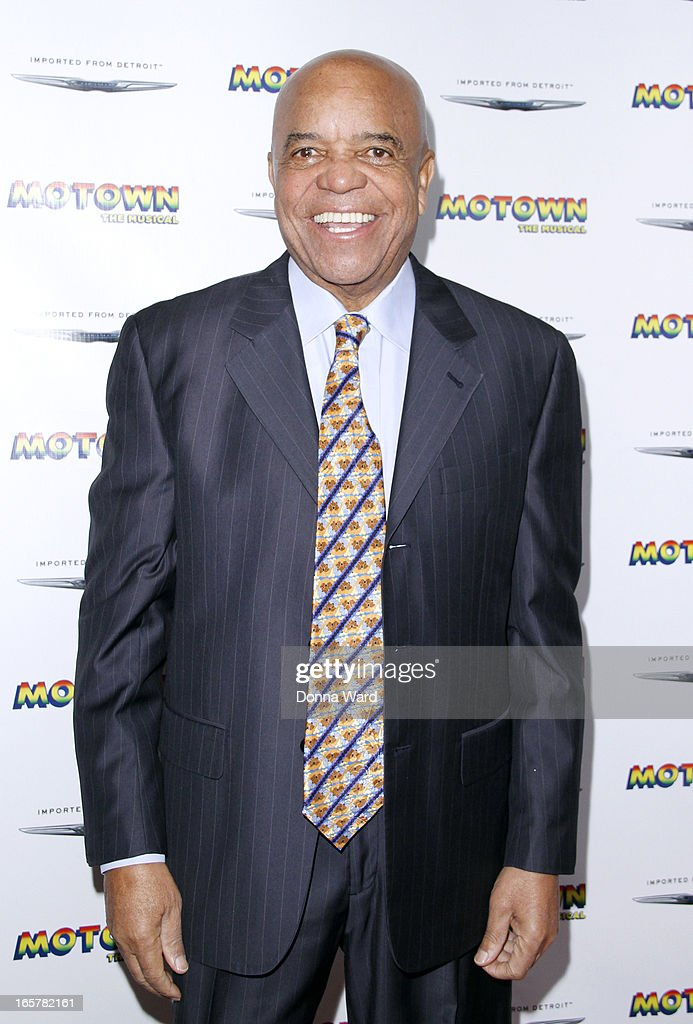 Berry Gordy attends 'Motown: The Musical' Motown Family Night at Lunt-Fontanne Theatre on April 5, 2013 in New York City.