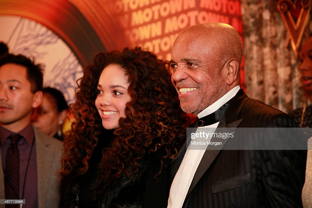 Berry Gordy attends the opening night of 'Motown The Musical' at The Fisher Theatre on October 22 2014 in Detroit Michigan