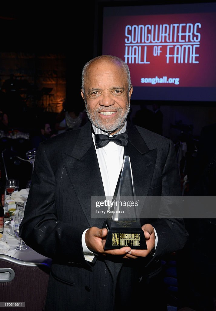Berry Gordy attends the Songwriters Hall of Fame 44th Annual Induction and Awards Dinner at the New York Marriott Marquis on June 13, 2013 in New York City.