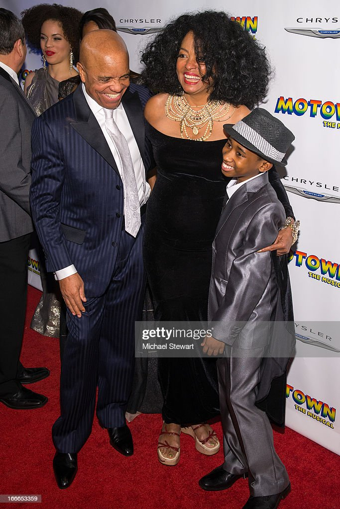 <a gi-track='captionPersonalityLinkClicked' href=/galleries/search?phrase=Berry+Gordy+Jr.&family=editorial&specificpeople=1541919 ng-click='$event.stopPropagation()'>Berry Gordy Jr.</a>, <a gi-track='captionPersonalityLinkClicked' href=/galleries/search?phrase=Diana+Ross&family=editorial&specificpeople=202836 ng-click='$event.stopPropagation()'>Diana Ross</a> and Raymond Luke Jr. attend the after party for the Broadway opening night for 'Motown: The Musical' at Roseland Ballroom on April 14, 2013 in New York City.